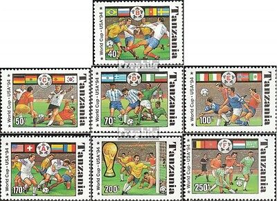 tanzanie 1759-1765 (complète.Edition.) neuf avec gomme originale 1994 Football-W