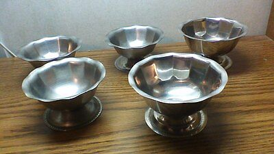 Qty 5 Vintage Stainless Steel Brandware Japan-China