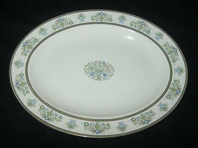 Minton Henley Pattern Medium Oval Serving Platter 13.5inches in length (A)