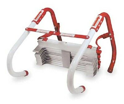 Kidde 2-3-Story 13-25 ft Fire Escape Ladder Home Safety Emergency Anti Slip Rung