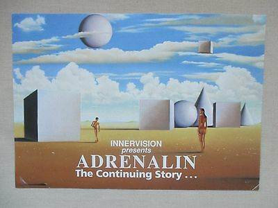 Adrenalin-The Continuing Story @ The Roxy Sheffield A5 Rave Flyer