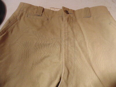 vintage ladies jodhpurs riding trousers laces, at the calf.  may be military,