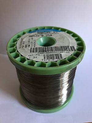 Nichrome 80 Round 0.2mm 33 AWG 25 Meters Roll 34.7Ohm/m Heater Wire