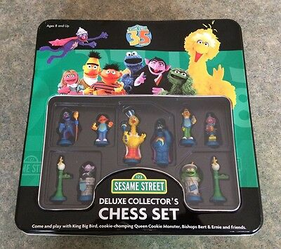 Sesame Street Deluxe Collector's Edition Chess Set