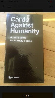BN 550 Sealed Cards Against Humanity UK Fun Friends Xmas Gift - High Demand!!