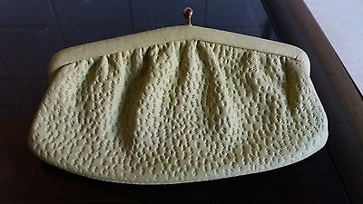 Vintage 60s Freedex real Leather Coin Ladies Small Clutch Purse