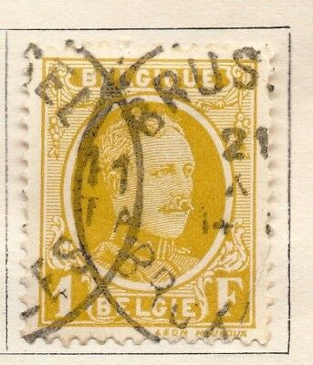 Belgium 1924-27 Early Issue Fine Used 1F. 130846