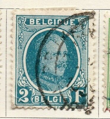 Belgium 1924-27 Early Issue Fine Used 2F. 130850