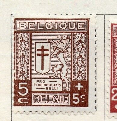 Belgium 1926 Early Issue Fine Mint Hinged 5c. 130860