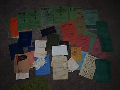 Vintage Documents / Prudential Books Etc  Liverpool Based Ephemera 1930 - 1960