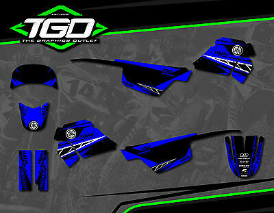 Yamaha Pw50 1990-17 Full Motocross Mx Graphics Decals Stickers Kit