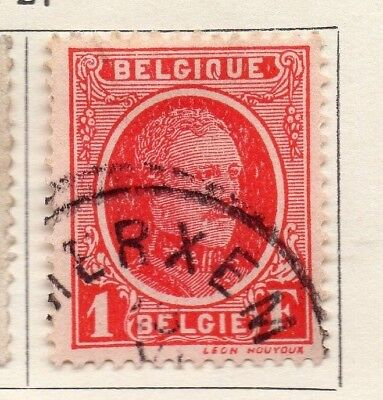 Belgium 1927-28 Early Issue Fine Used 1F. 130871