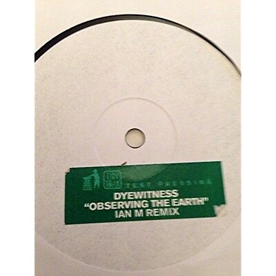 Dyewitness - Observing The Earth - Tidy Trax - 2000 #49373