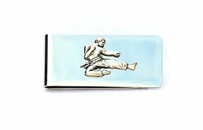 Karate Martial Arts  Money Clip FREE UK POSTAGE supplied  gift pouch
