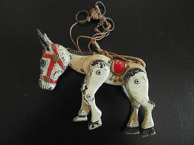 Old Muffin the Mule metal puppet