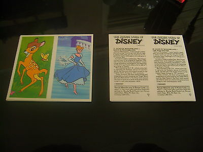 The Magical World Of Disney Double Card Full Set By Brooke Bond