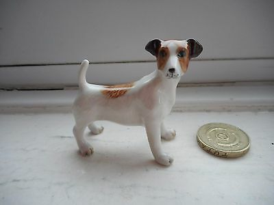 Jack Russell Terrier - Miniature Ceramic/pottery - Lovely Standing Dog