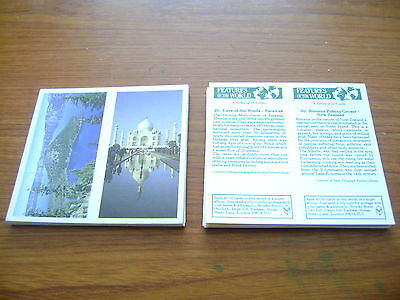 Features Of The World Double Card Full Set By Brooke Bond