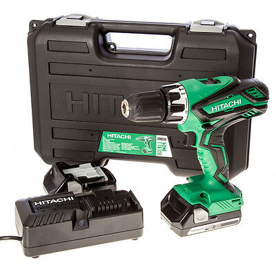 Hitachi 18V Combi Hammer Drill Kit Inc: 2x Li-ion batteries! *NEW & VAT RECEIPT*