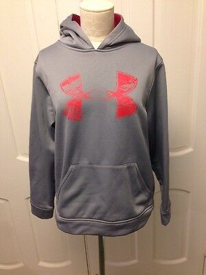 Under Armour Storm YXL Youth XL Gray Red