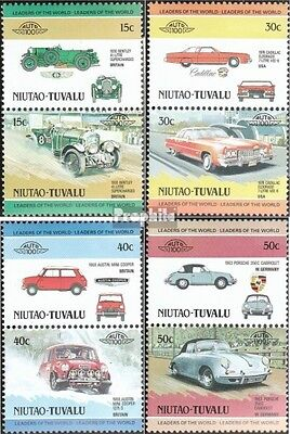 tuvalu-Niutao 1-8 Couples (complete.issue.) unmounted mint / never hinged 1984 C