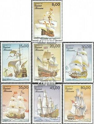 Guinea-Bissau 872-878 (complete.issue.) unmounted mint / never hinged 1985 Sailb