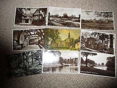 Collection 40 x Vintage Leicester Postcards All Pictured Fronts & Backs