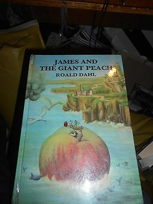 Roald dahl James and the giant peach first edition