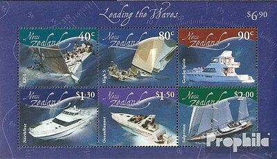 New Zealand block142 (complete.issue.) unmounted mint / never hinged 2002 Vessel