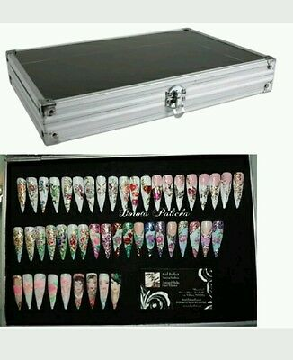 The Nail Art Display Case, nail wall display, nail box