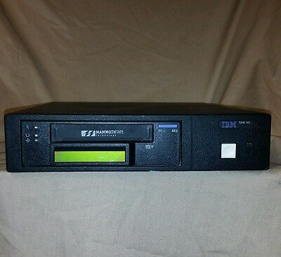 IBM 7208-345 Mammoth 2 Tape Drive External