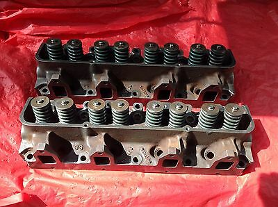 1960 61 62 63 FORD 390 HEADS High Performance C1AE-6090-A Dated 3L11 & 3H30