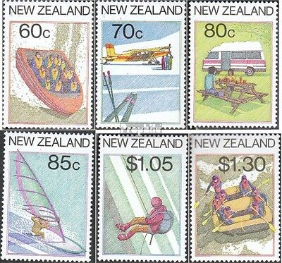New Zealand 978-983 (complete.issue.) unmounted mint / never hinged 1987 Tourism