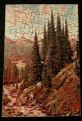 CAPITOL PICTURE PUZZLES (Wood) CHRISTMAS AT HOME SWEET HOME Complete in Box