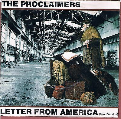 Proclaimers - Letter From America 45rpm Vinyl Single