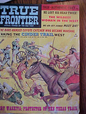 """TRUE FRONTIER  """"Actual Stories of the OLD West"""" 66 Pages    GREAT STORIES"""