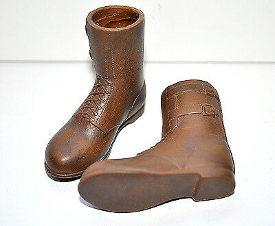 1/6 scale 21CT. U.S. WWII - BROWN BOOTS