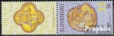 Slovakia 585Zf with zierfeld (complete.issue.) unmounted mint / never hinged 200