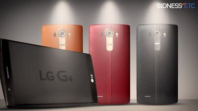 "New LG G4 H811 32GB 4G LTE 5.5"" Unlocked Smartphone in Sealed Box"