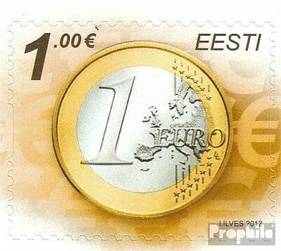 Estonia 738 (complete.issue.) unmounted mint / never hinged 2012 Euro