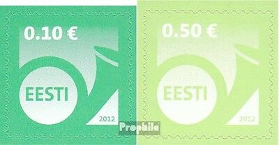 Estonia 727-728 (complete.issue.) unmounted mint / never hinged 2012 Horn