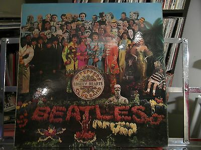 The Beatles - Sgt Peppers Lonely Hearts Band - Vg+ Vinyl Lp - First - Mono