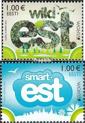 Estonia 733-734 (complete.issue.) unmounted mint / never hinged 2012 Europe
