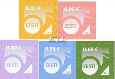 Estonia 682-686 (complete.issue.) unmounted mint / never hinged 2011 Horn