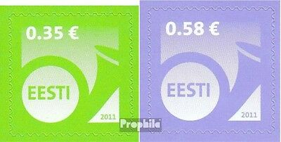 Estonia 700-701 (complete.issue.) unmounted mint / never hinged 2011 Horn