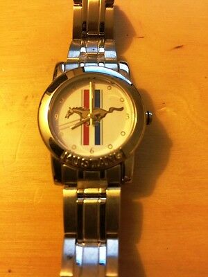 FORD MUSTANG WATCH/Ford Licensed Product/Ladies Watch