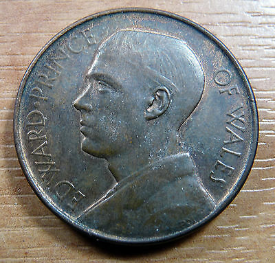 1925 South Africa Capetown Visit of Prince of Wales Edward VIII Medal