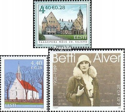 Estonia 564,566,567 (complete.issue.) unmounted mint / never hinged 2006 manor,