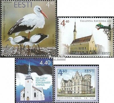 Estonia 486,489,490,491 (complete.issue.) unmounted mint / never hinged 2004 sto