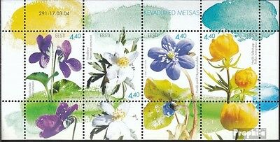 Estonia block21 (complete.issue.) unmounted mint / never hinged 2004 Flowers
